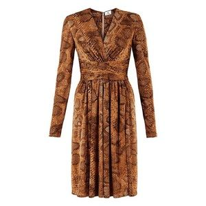 Snake Print Dress 🐍
